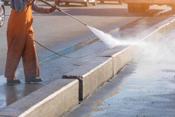Commercial Pressure Washing by A&A Contracting Services Inc