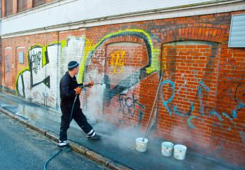 Graffiti Removal by A&A Contracting Services Inc